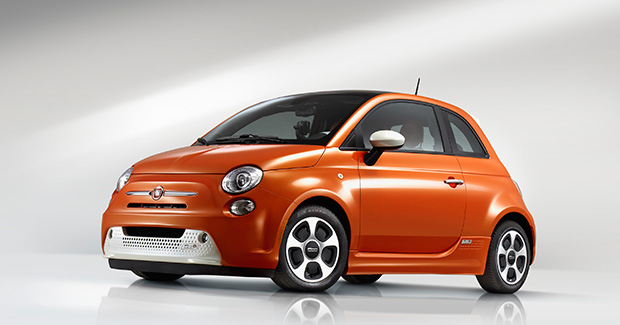500e electric car from Fiat Chrysler