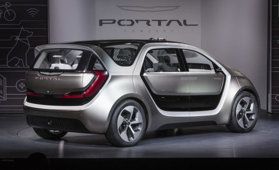 Chrisler Portal FCA group concept car