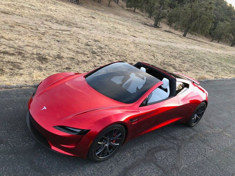 New Tesla Roadster Hard top